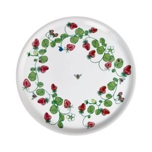 Emelie Ek Design Strawberries Tarjotin Ø 38 mm