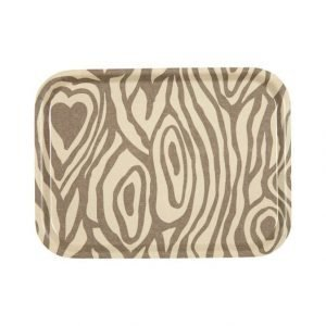 Emelie Ek Design Wood Grain Tarjotin 27 X 20 mm