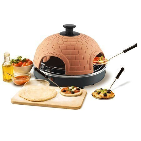 Emerio Pizza Maker Terracotta