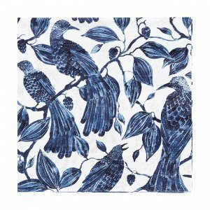 Emma Von Brömssen Paradis Napkins Lautasliina Sininen 33x33 Cm