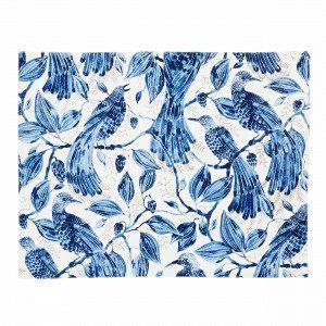 Emma Von Brömssen Paradis Pöytätabletti Sininen 35x45 Cm