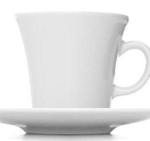 Erik Bagger Kahvikuppi aluslautasella DAILY 4kpl