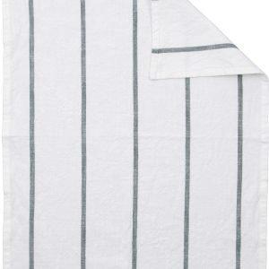 Ernst Kökshandduk Keittiöpyyhe Raidallinen Valkoinen / Vihreä 50x70 Cm