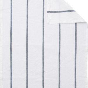 Ernst Keittiöpyyhe Raidallinen Tummanharmaa / Valkoinen 50x70 Cm
