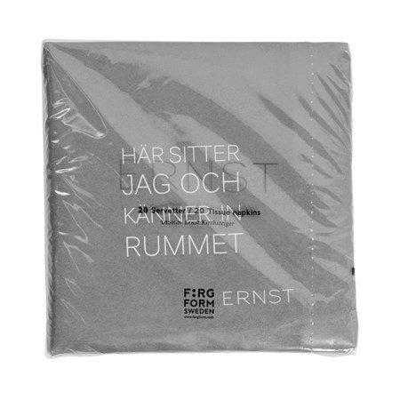 Ernst Kirchsteiger Servetti Tid/Rum harmaa