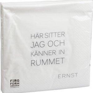 Ernst Kirchsteiger Servetti Tid/Rum valkoinen