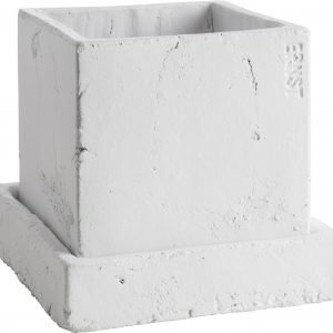 Ernst Ruukku Alusella Valkoinen 17x17 Cm
