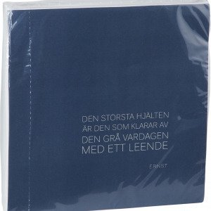 Ernst Servetti Sitaatilla Sininen 40x40 Cm