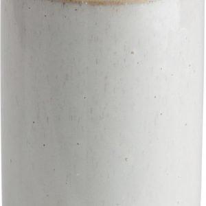Ernst Vaasi / Pullo Keraaminen Valkoinen 17 Cm
