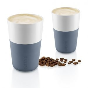 Eva Solo Cafe Lattemuki Steel Blue 2 Kpl