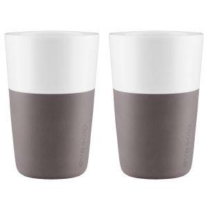 Eva Solo Caff Latte Muki Harmaa 2-Pakkaus