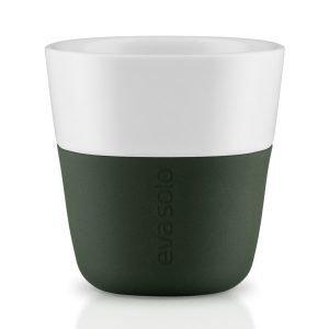Eva Solo Espressomuki Forest Green 2-Pakkaus