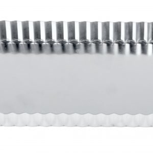 Exxent Piirasvuoka Neliskulmainen Hopea 36x13 Cm
