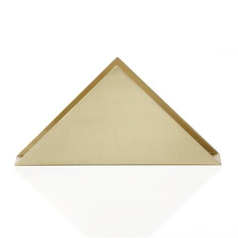 Ferm Living Brass Triangle Teline 17x8