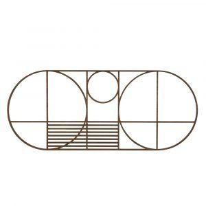 Ferm Living Outline Oval Pannunalunen