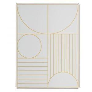 Ferm Living Outline Pöytätabletti Off White 40x30 Cm