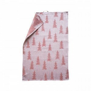 Fine Little Day Gran Kitchen Towel Keittiöpyyhe Joulunpunainen 70x47 Cm