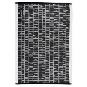 Finlayson Coronna Keittiöpyyhe Musta / Valkoinen 50x70 Cm