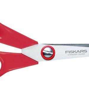 Fiskars Classic Yleissakset Vasenkätinen Punainen 21 Cm