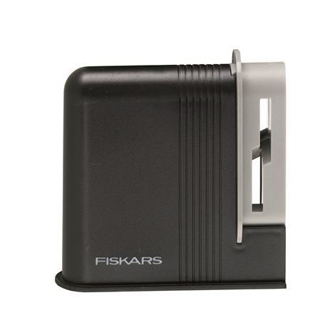 Fiskars Functional Form clip-Sharp Saksienteroitin Musta