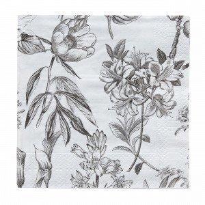 Flora Paperiservetit Beige