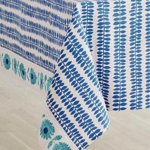 Flower Patch Pöytäliina Sininen