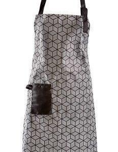 Galzone Esiliina Polyesteri/Puuvilla Musta/Valkoinen 80x64 cm
