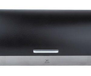 Galzone Leipälaatikko teräs/musta 39 cm