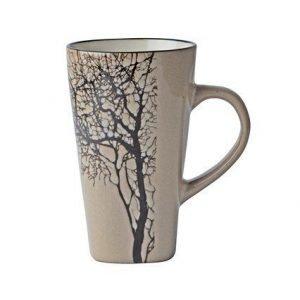Galzone Muki Kivikeramiikka ruskea/puu 50 cl