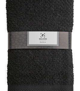 Galzone Pyyhe 100% Puuvilla Musta 100x50 cm