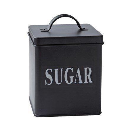 Galzone Säilytyspurkki Sugar Metalli 14x11