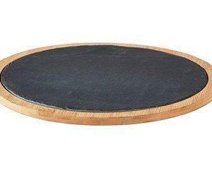 Galzone Tarjoiluvati Skiffer Bambu 30 cm