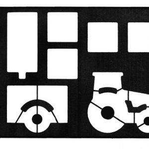 Gastromax Muotti Traktori Ja Perävaunu Musta