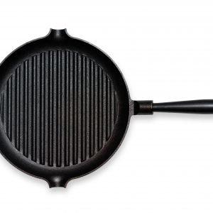 Gense Le Gourmet Grillipannu Teräskahvalla Valurauta 28 Cm