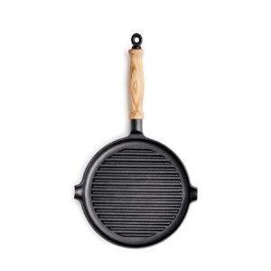 Gense Le Gourmet valurauta grillipannu 25 cm puukahva