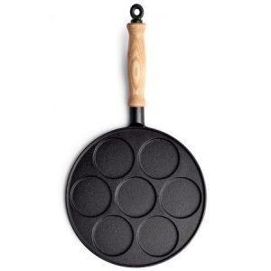 Gense Le Gourmet valurauta ohukaispannu 26 cm puukahva