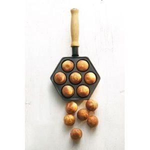 Gense Le Gourmet valurautainen munkki- ja omenapannu puukahva