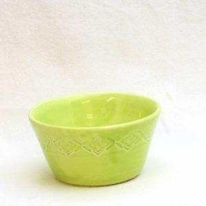 Gerbera Olivskål Lime 7 cm