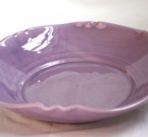 Gerbera Provence Skål Lila 40 cm