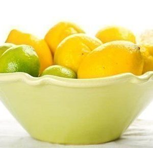 Gerbera Provence Skål Lime 33x10