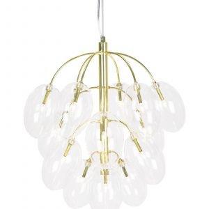 Globen Lighting Drops Kattolamppu Messinki 50 Cm