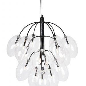 Globen Lighting Drops Kattolamppu Musta 50 Cm