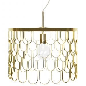 Globen Lighting Gatsby Kattolamppu Messinki 45 Cm