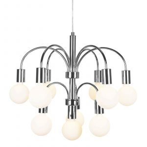 Globen Lighting Grace Kattolamppu Kromi 57 Cm