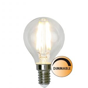 Globen Lighting Led Filament L175 Lamppu Pallo Himmennettävä 3.2 W E14 Kirkas