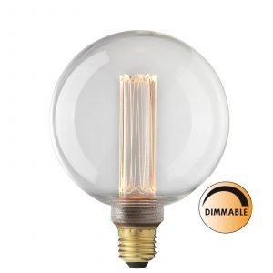 Globen Lighting Led Laser L211 Lamppu Glob Himmennettävä 3.5 W E27 Kirkas 12.5 Cm