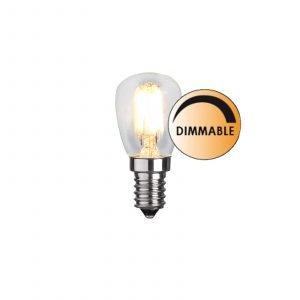 Globen Lighting Led Päärynä L174 Lamppu Himmennettävä 2.5 W E14 Lämmin Valkoinen