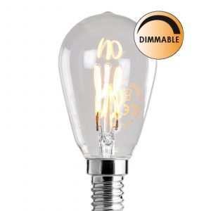 Globen Lighting Led Soft L201 Lamppu Normal Himmennettävä 3 W E14 Kirkas