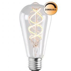 Globen Lighting Led Soft L202 Lamppu Edison Himmennettävä 3 W E27 Kirkas