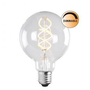 Globen Lighting Led Soft L204 Lamppu Glob Himmennettävä 5 W E27 Kirkas